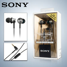 NEW SONY MDR-EX650AP Grey In-Ear Earphones Headphones iPhone 5 6 Plus Mic Remote