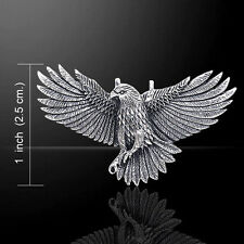 Ted Andrews Eagle .925 Sterling Silver Pendant by Peter Stone