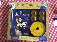 Belly Dancing Book & Kit - CD Cymbals, Dance your way to a new sexy thinner you