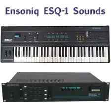 Ensoniq ESQ-1, ESQ-M, SQ-80- Largest Sound Collection