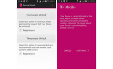 T-Mobile Samsung Galaxy Note 5 (SM-N920T) Unlock App Service Code