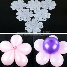 20pcs Balloon Flower Clip Party Customes For Helium or Air Filled Balloons