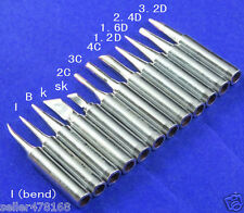 12pcs Soldering TIP Iron 900M-T Tips for Hakko936/937/928 Soldering Station tool
