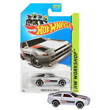 NEW Hot Wheels 1:64 Die Cast Car HW WORKSHOP Series Silver Toyota AE-86 Corolla