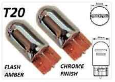 T20 Birnen Chrom Autolampen Anzeigeleuchten Blinker Bernstein (W21W 580 7440)