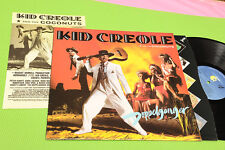 KID CREOLE AND COCONUTS LP DOPPELGANGER ORIG UK 1983 NM !! INSERT AND INNER