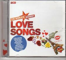 (FD311A) The World's Biggest Love Songs, 36 tracks various artists - 2CDS - 2011