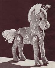 VINTAGE TOY HORSE - COPY Toy sewing pattern