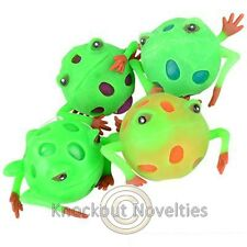 Frog Squeeze Ball One Green Squeezable Goo Colors May Very Stress Ball Relief