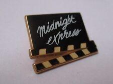 Pin's clap de cinéma / Film Midnight express (signé Corner Coinderoux)