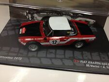 1/43 FIAT ABARTH 124 RALLY-RALLYE SAN REMO 1973-VERINI-IXO RALLY CAR COLLECTION