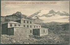 1910ca ISTITUTO SCIENTIFICO MONTE ROSA COL D'OLEN  Alagna Valsesia Gressoney