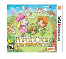 Return to PoPoLoCrois: A Story of Seasons Fairytale (Nintendo 3DS, 2016)