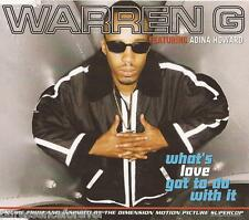 WARREN G ft ADINA HOWARD - What's Love Got To Do With It (UK 3 Tk CD Single)