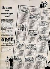 Opel-1,2Liter 4 Zylinder-So müßte auch mein Wagen sein--Werbung von 1935-