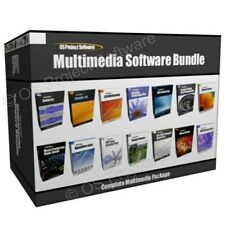 Multimedia MUSICA VIDEO EDITING progettazione di siti Web del programma software Bundle
