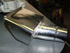 73 Corvette NOS Exhaust Tip Spout Right Side GM 330998 with NO NUMBER STAMP
