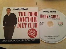 THE FOOD DOCTOR DIET CLUB Body & Soul Collection Healthy Weight Loss DVD