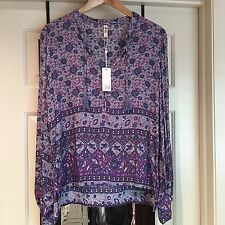 spell and the gypsy collective Kombi Blouse Lavender Size S BNWT