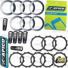 Apico Clutch Kit Steel Friction Plates & Springs For Yamaha WR 450F 2016 Enduro