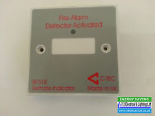 REMOTE LED FIRE ALARM INDICATOR FOR CONCEALED DETECTORS C-TECH BF318
