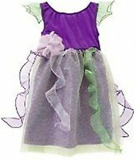 Gymboree PRETTY PIXIE Forest Fairy Costume Dress Purple Green Girls XS 3-4 NEW!