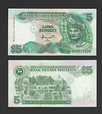 Malaysia 5 Ringgit 1998 Printer Canadian P35a - UNC