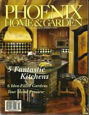 PHOENIX HOME & GARDEN - Southwest Living - Oct 2001 - Fantastic Kitchens Gardens