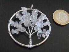 1 Colgante Arbol de la vida Cuarzo,pendant,pendentif,ciondolo,anhänger