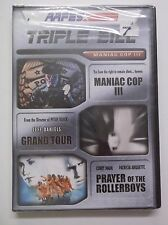 Maniac Cop III , Grand Tour, Prayer of the Rollerboys DVD NEW Triple Bill AAFES