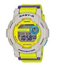 Casio Baby-G * BGD180-3 G-Lide Yellow and Green Surf Watch for Women COD PayPal