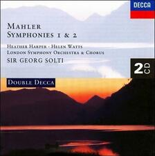 Mahler: Symphonies 1 & 2 by