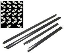 AUDI A4 B5 1995-2001 Lower doors trims protective rubber set 4 pieces + 26 clips