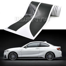 2x 2.05M M Performance Side Skirt Matte Sticker Decal For BMW 3 series F30 13-15