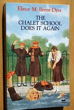 The Chalet School Does It Again By Elinor M Brent-Dyer 1990 Armada Paperback