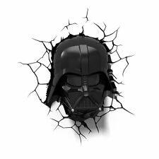 3D Light FX Star Wars Darth Vader 3D Deco LED Wall Light