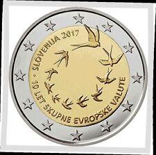 2 EURO *** Slovenië 2017 Slovénie - 10 ans / jaar euro !!!