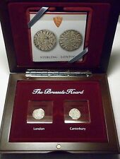 The Brussels Hoard Henry III 1216-1272 Silver Penny Set with COA
