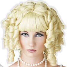 Adorable Blond Short Curls Wig for Adult Little Girl Sissy Dress up LEANNE