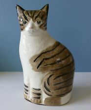 """Charming Vintage China Cat Figure. 8"""" Tall"""