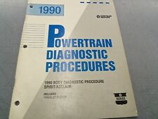 1990 Spirit Acclaim Body Diagnostic Procedure OEM Dealer Manual FREE Shipping!!