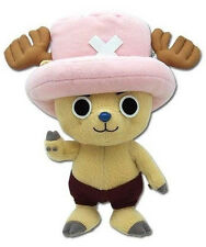 "1x Tony Tony Chopper 8"" One Piece Stuffed Plush Toy (GE-7096) by Great Eastern !"