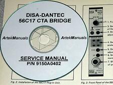 DISA Dantec 56C17 CTA Bridge, Manual,  Service & Schematics