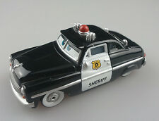 Disney Pixar Cars Sheriff  Mercury Police Car 1:55 Diecast Auto Vehicle