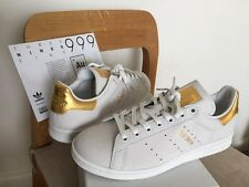 Adidas Stan Smith 999 Real Gold Leaf 10 vintage Superstar 80s white Black Beige