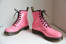 Dr.Martens Elegante Stiefeletten Boots Lackleder Pink Eu:41-Uk:7-Neu ohne Karton