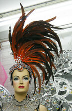 Da NeeNa H0299 Feather Vegas Cabaret Showgirl Drag Headdress