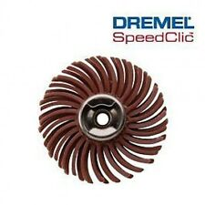 Dremel 473S EZ SpeedClic Detail Abrasive Brush 220 Grit S473 Speed Clic