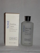 DHC Tone Soothing Lotion FACIAL TONER Drier Skin 6 oz/180mL NIB