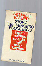 storia del pensiero economico - william j.barber